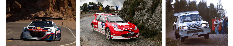 Peugeot wszechstronny zwycięzca motosportu