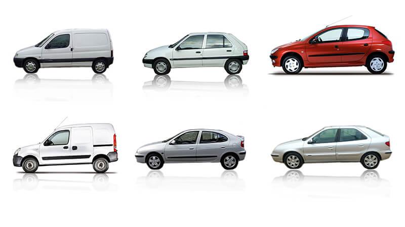 Modele samochodów z tylną belką